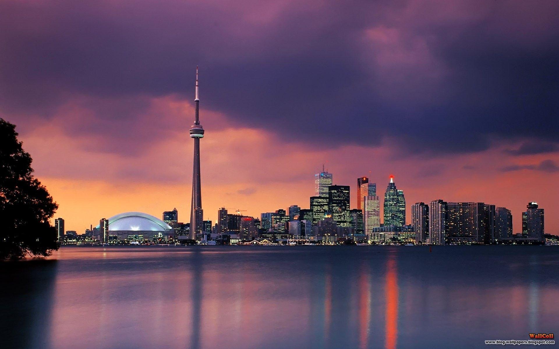 Toronto Night Google Kereses Toronto Skyline Skyline Ontario Canada