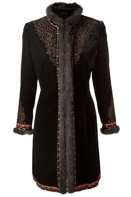 East Embroidered Russian Coat - Winter Coats   Jackets 2012  (houseandgarden.co.uk) 309edf6f9624d
