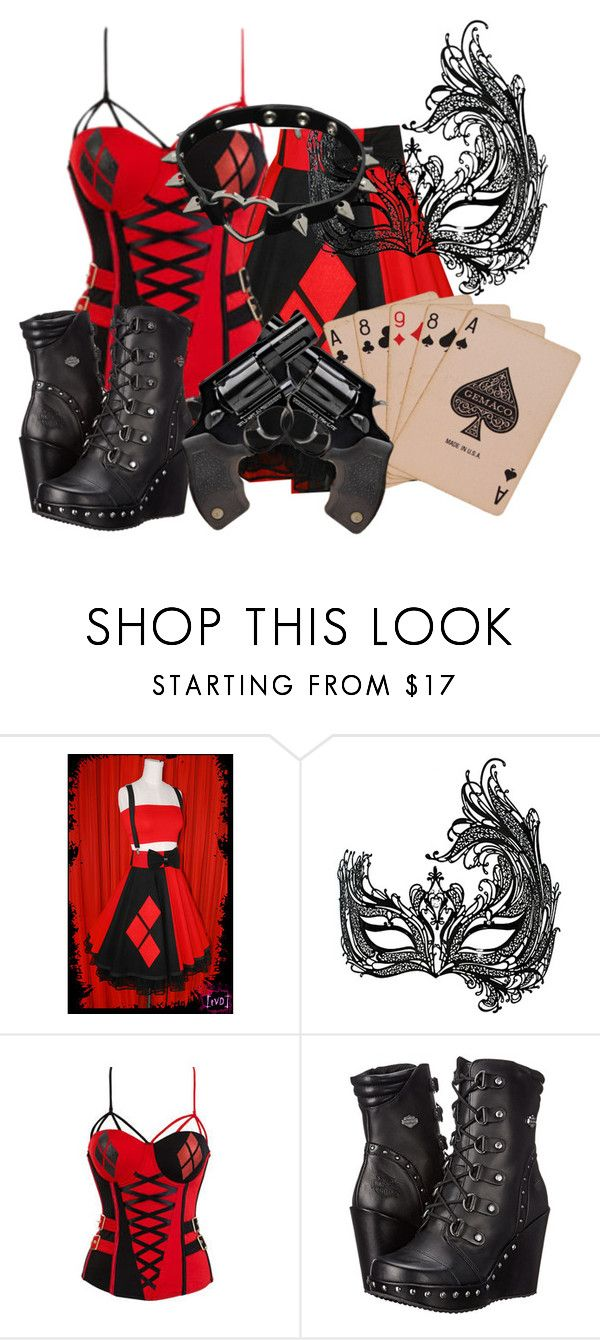 Harley quinn by bubbythenarwhal liked on polyvore featuring harley quinn by bubbythenarwhal liked on polyvore featuring masquerade harley davidson voltagebd Gallery