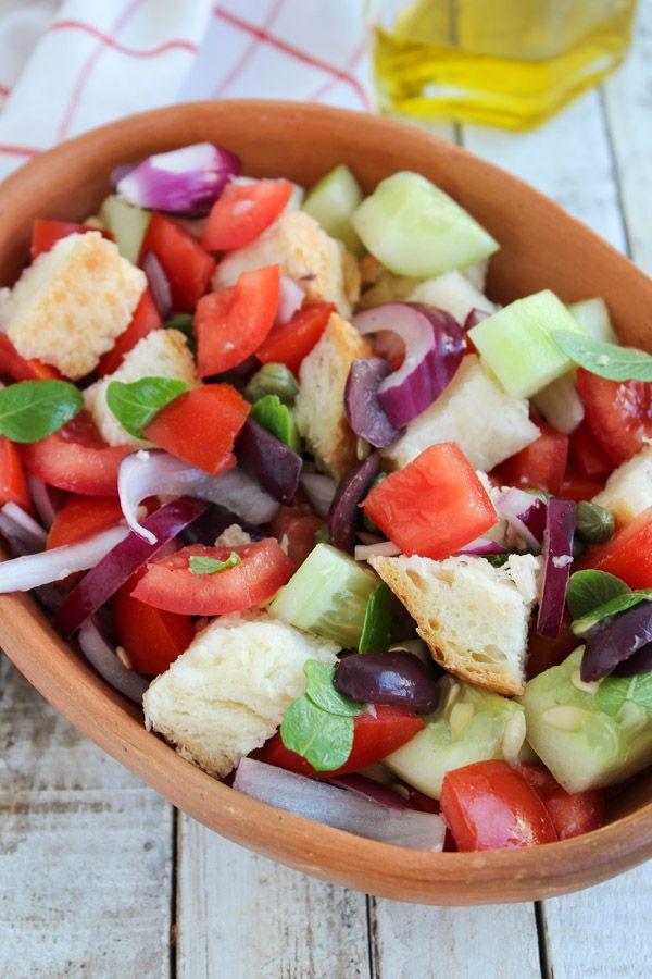 Panzanella – Salada com pão italiano