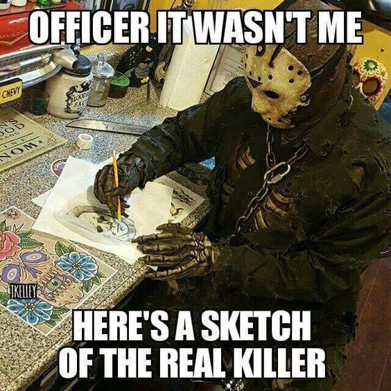 sketch of the real killer