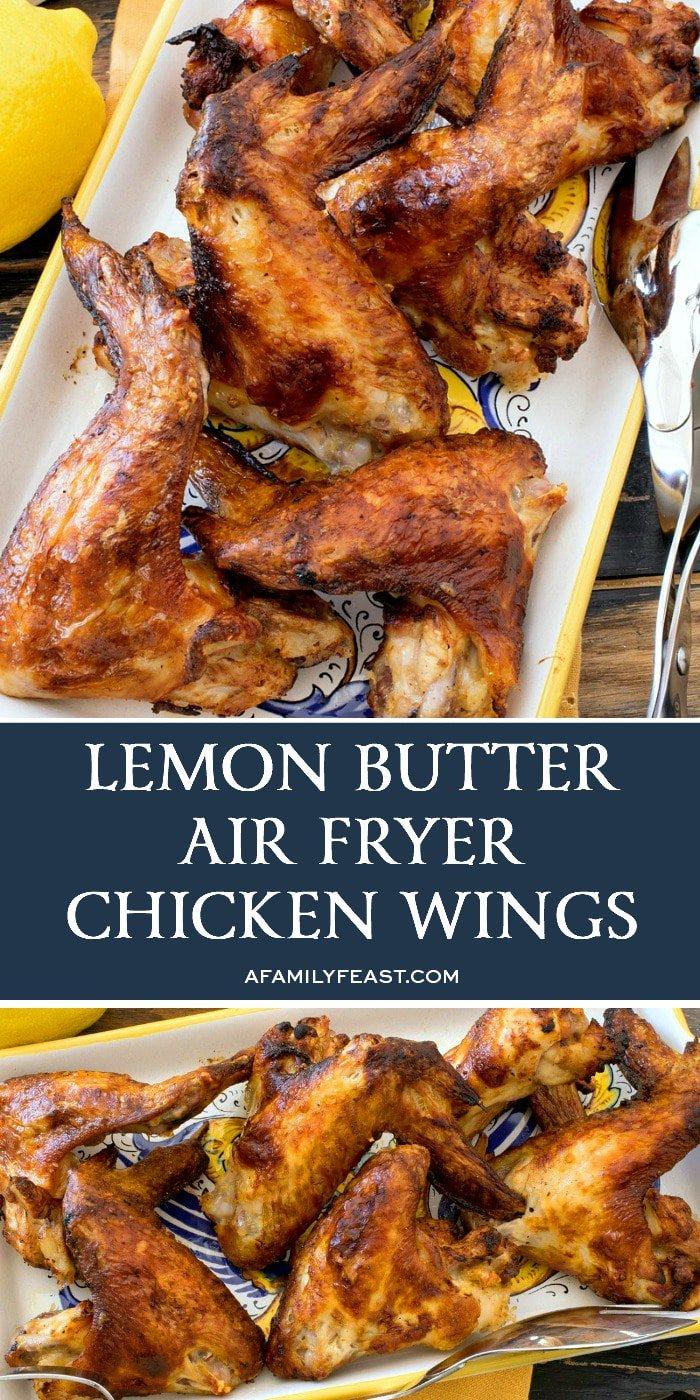 Lemon Butter Air Fryer Chicken Wings Recipe Air fryer