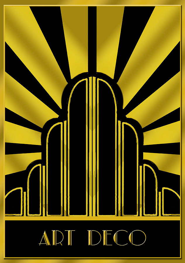 Art Deco Poster - Title by Chuck Staley