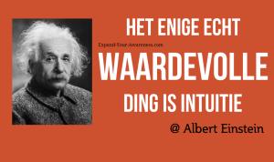 Albert Einstein intuitie