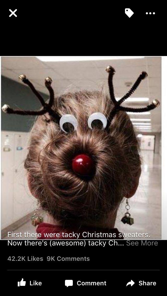 Christmas Hair for little girls