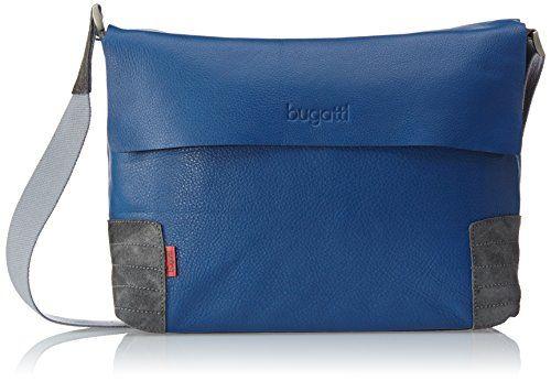 Bugatti Bags Race Messenger Bag, Querformat, medium, Unisex-Erwachsene Messengertaschen, Blau (Blau 05), 37x26x11 cm (B x H x T) - http://herrentaschenkaufen.de/bugatti-3/blau-blau-05-bugatti-bags-race-messenger-bag-cm-b-x-h