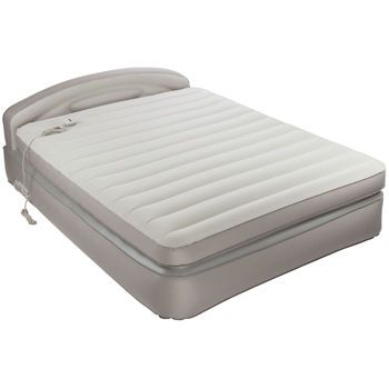 Aerobed Opti Comfort Queen Air Mattress With Headboard Highly