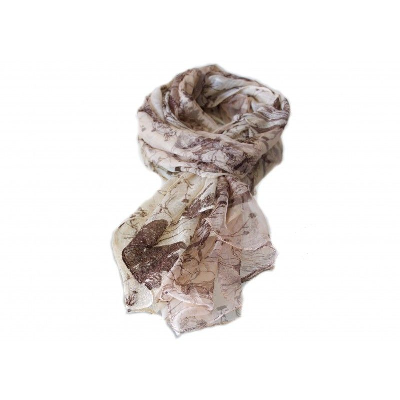 Sophie Beige Scarf - Scarves - Women Reduced from £55 to £35!