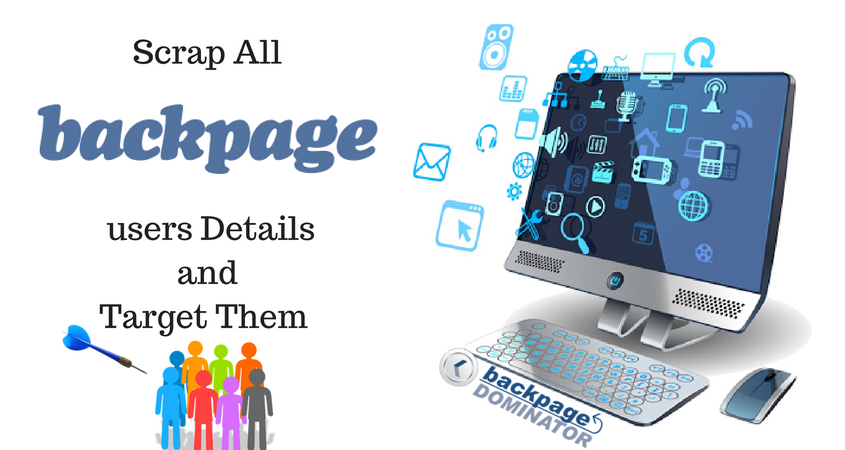 scrap all BackPage users details with BackpageDominator