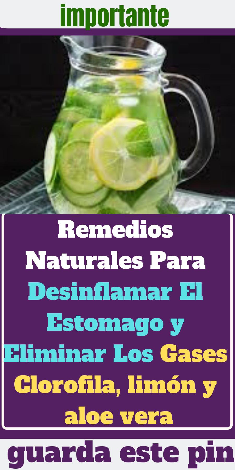 remedios naturales para botar gases