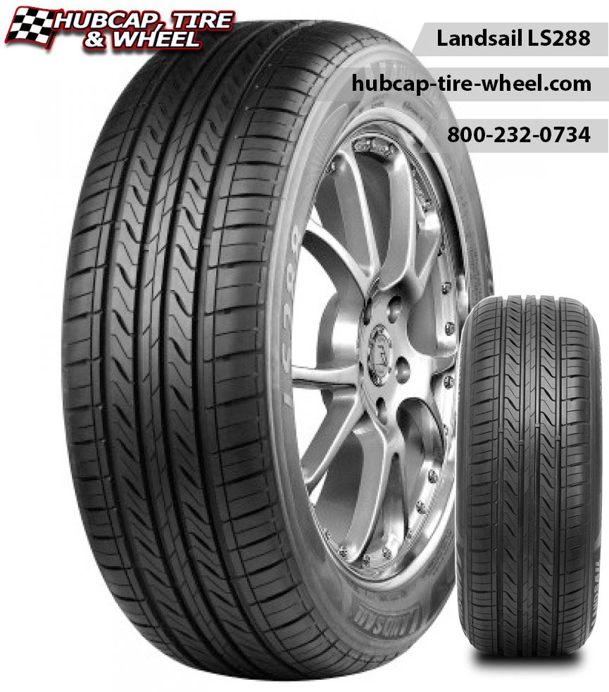 Landsail ls288 tires free shipping w set of wheels