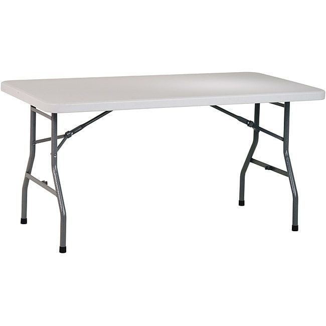 5e9e57f301d Office Star 5-foot Resin Multi-purpose Table (Resin. Dimensions 60 ...