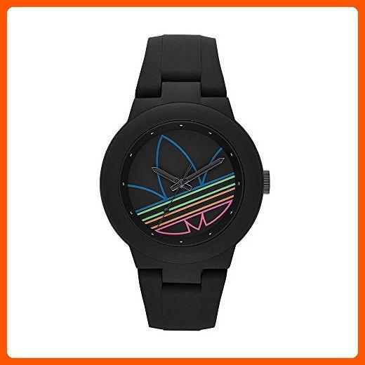 0477124b84132 adidas Women's ADH3014 Aberdeen Analog Display Analog Quartz Black ...