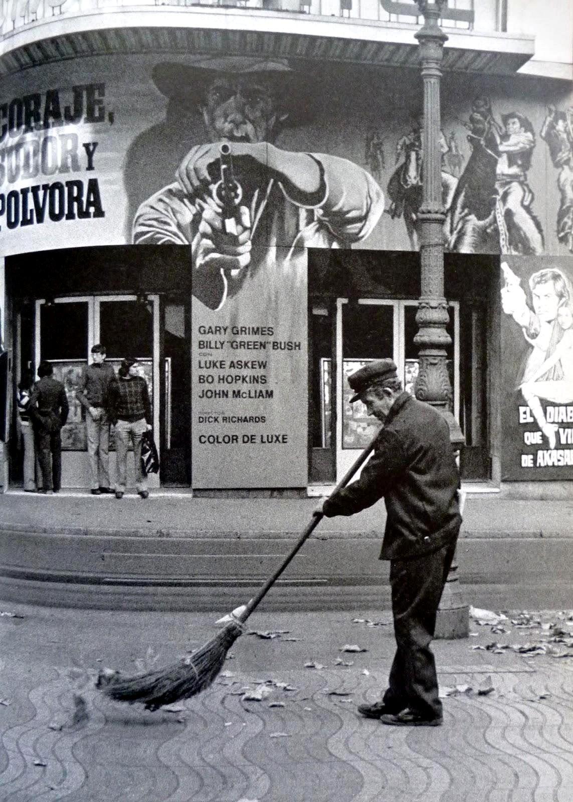 Can Pistoles-Cinema Capitol. 1960... La Rambla. Barcelona. Catalunya ...