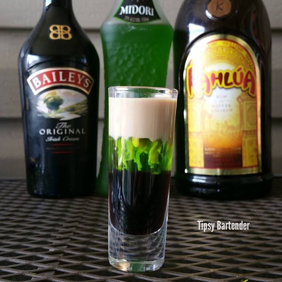 The Seven Deadly Sins shots - Alcoholic shot recipes: Striking ...
