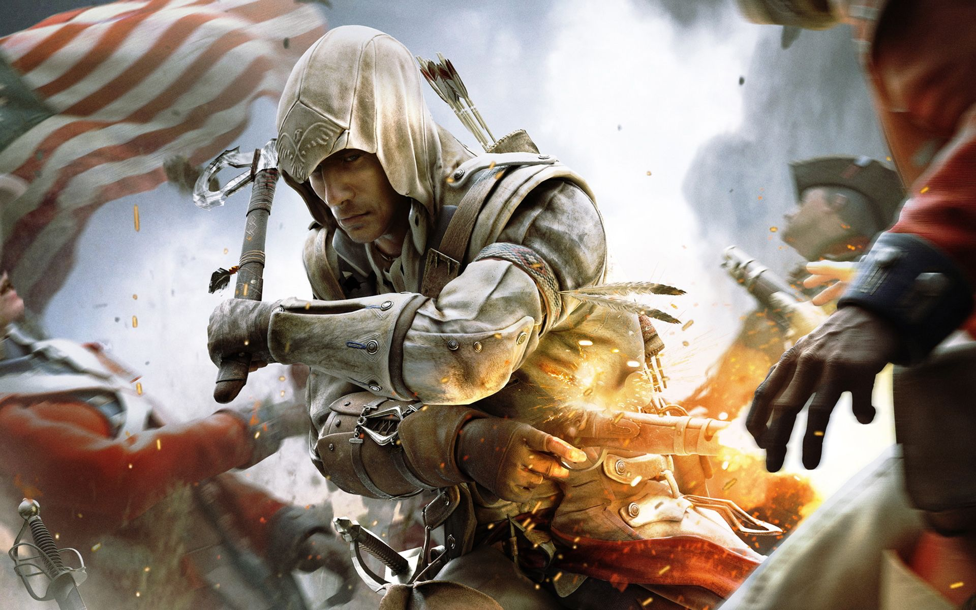 Ac3 Wallpaper 1080p Google Search Assassin S Creed Wallpaper