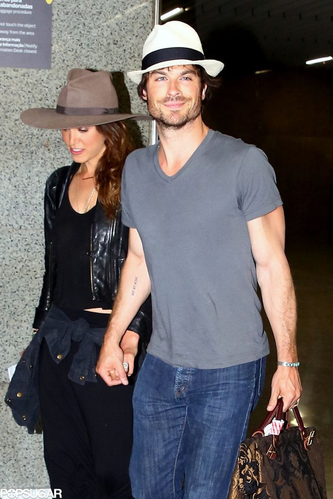 Ian Somerhalder Gave Nikki Reed An Impressive Wedding Ring Click Through To See The Sparkler