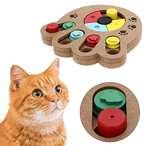 Pet Intelligence Toy Pyrus Ecofriendly Interactive Fun Hide And
