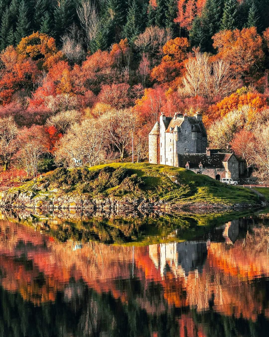 Fall In The Scottish Highlands By Mark Harris (@mark