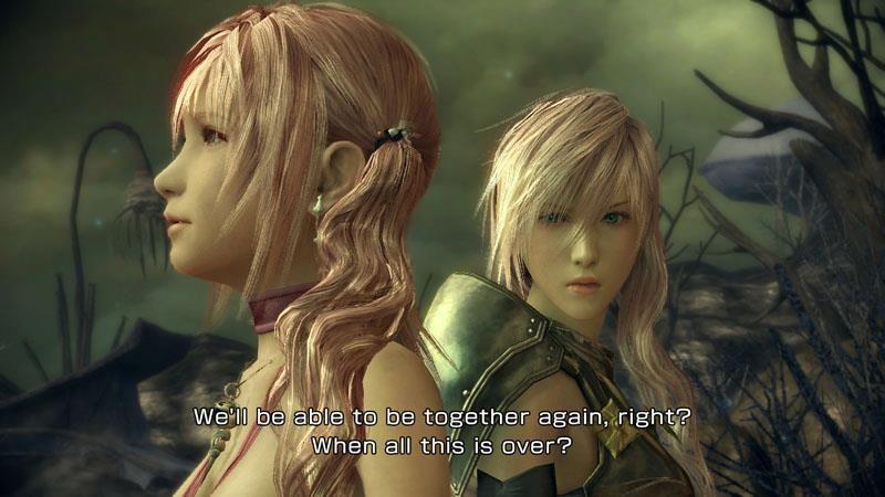 Final Fantasy 13 2 Serah And Lightning
