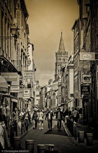 Rue du Taur, Toulouse, France
