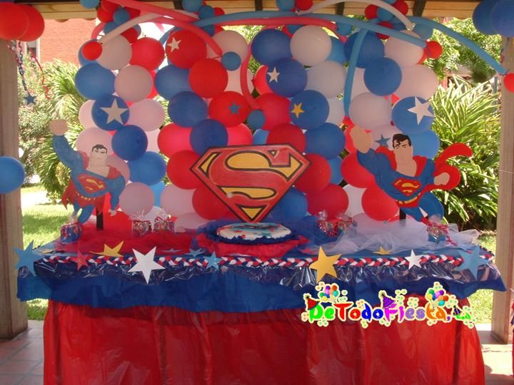 decoracion superman ideas