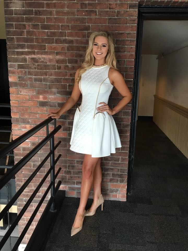 Madison Cota Pageant Interview Dress Ideas For Miss Vermont