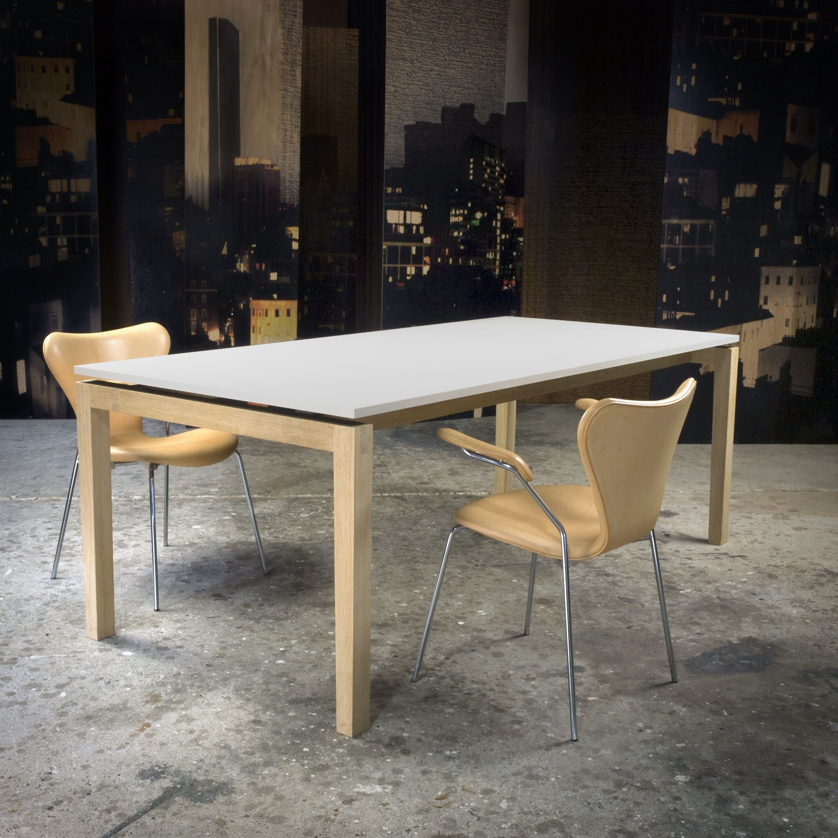 Kjeldtoft – dinner table  – surface – interior - design - Desktop – Furniture Linoleum – Forbo
