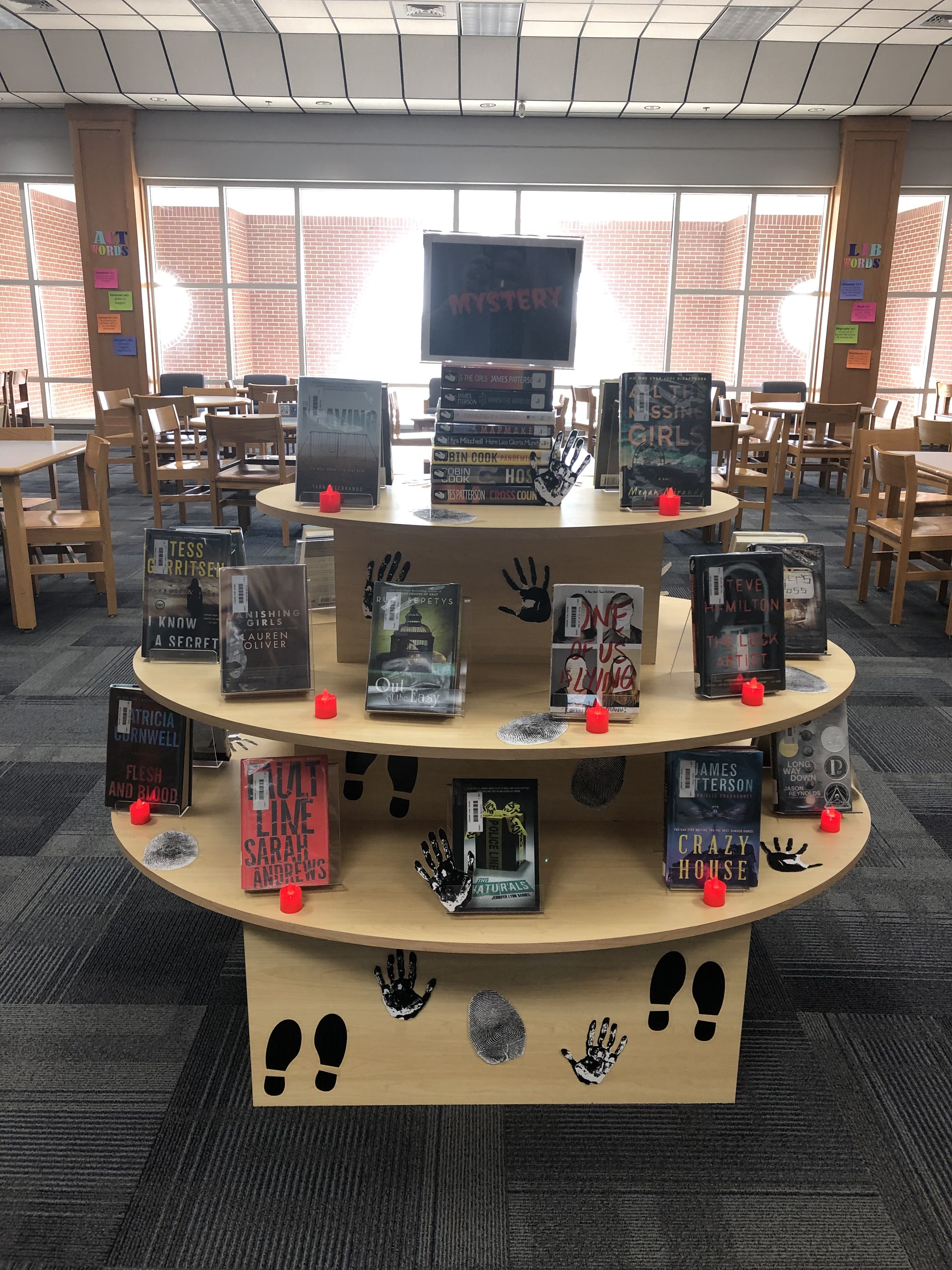 Pin by Whitney Johnson on LHS Library Displays in 2020