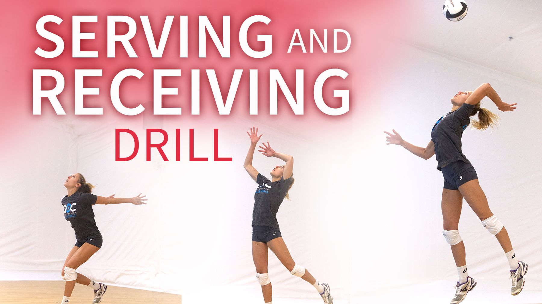 Competitive Serving And Receiving Drill From Sweden Coaching Volleyball Volleyball Drills Volleyball Training