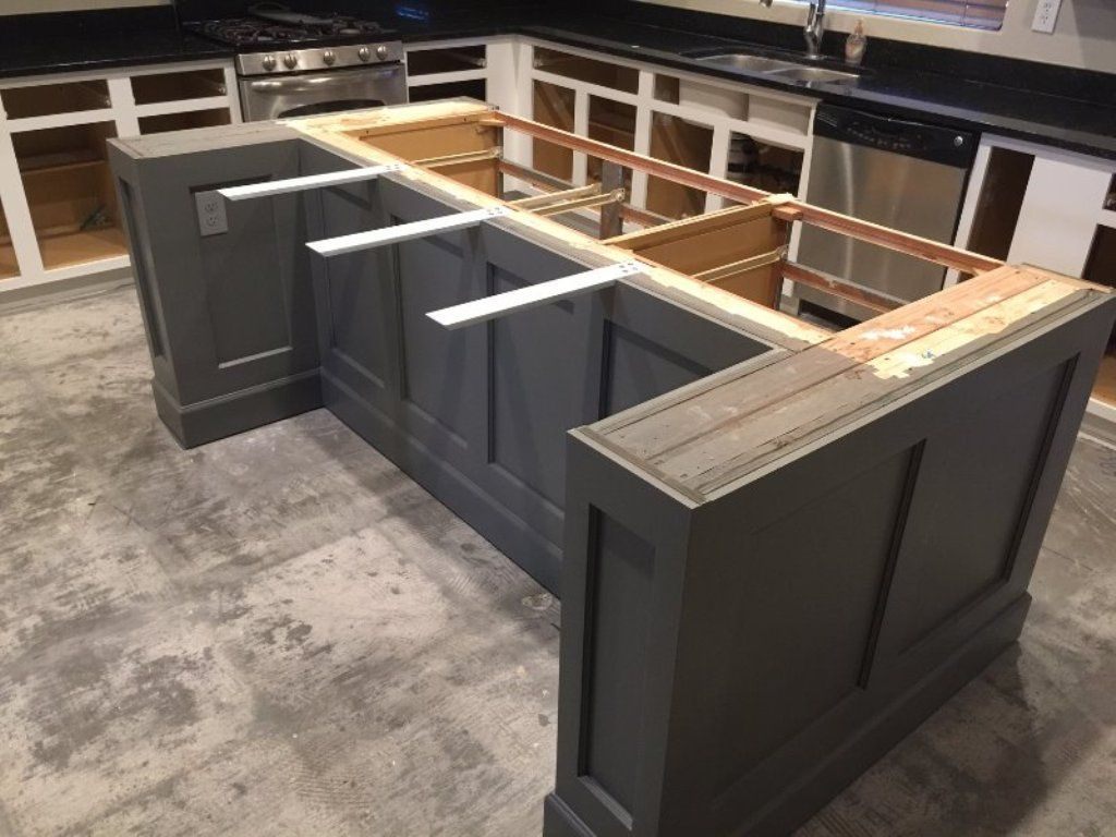 Granite Countertop Overhang Support