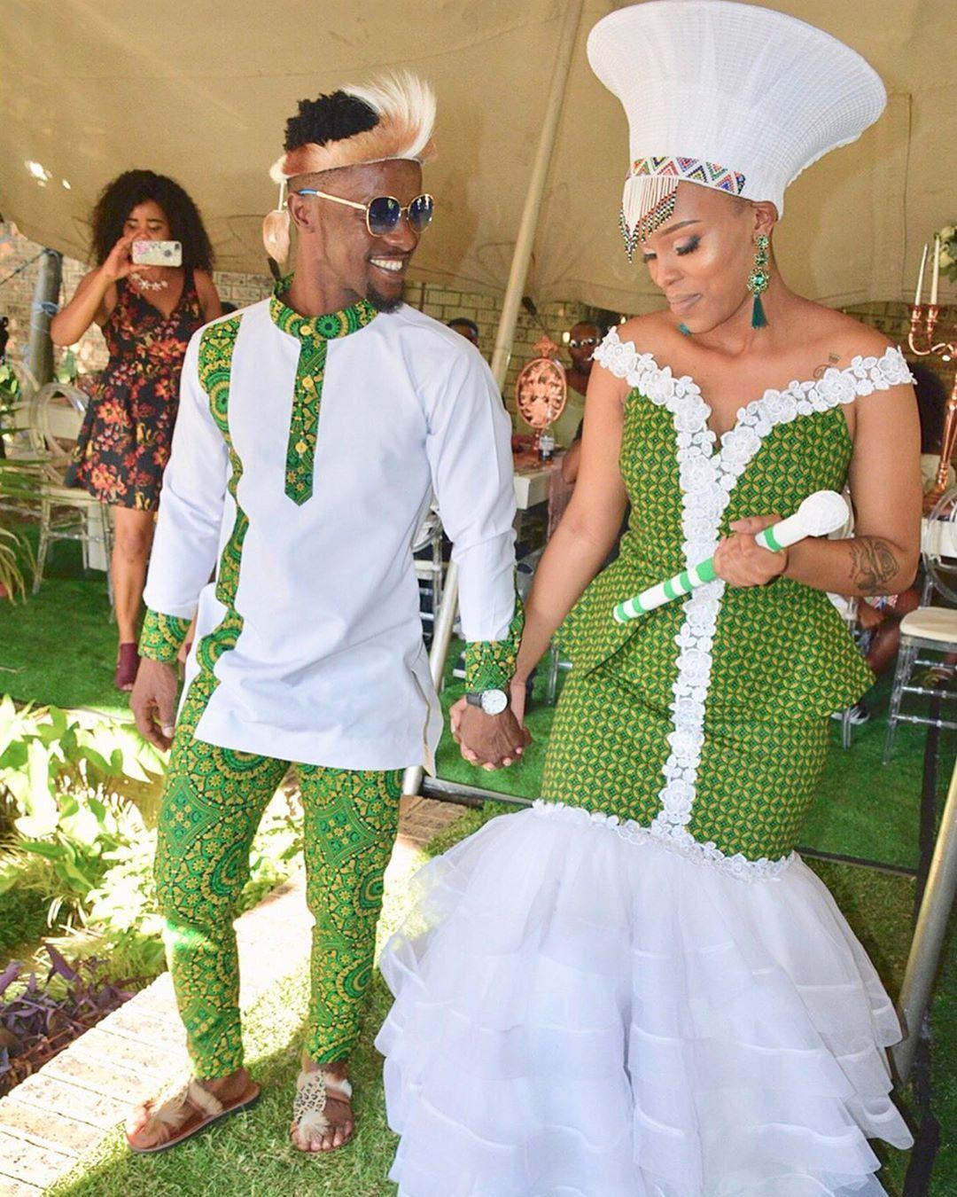 Traditional Dresses For Zulu Wedding: Pin On African Wedding Dress