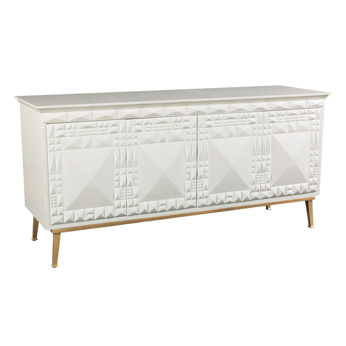 Furniture Storage Sydney Sydney Mod Pyramids Credenza White Storage Shelving