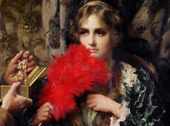 Image result for Thomas Benjamin Kennington «Temptation»