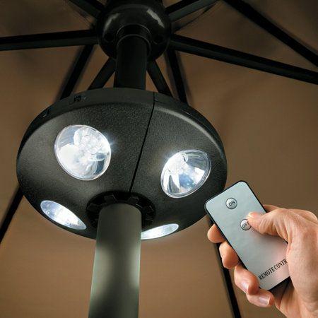 led umbrella light with remote control
