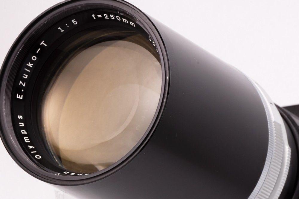OLYMPUS E.Zuiko -T 250mm f5 Telephoto prime lens for PEN-F,FT,FV from Japan