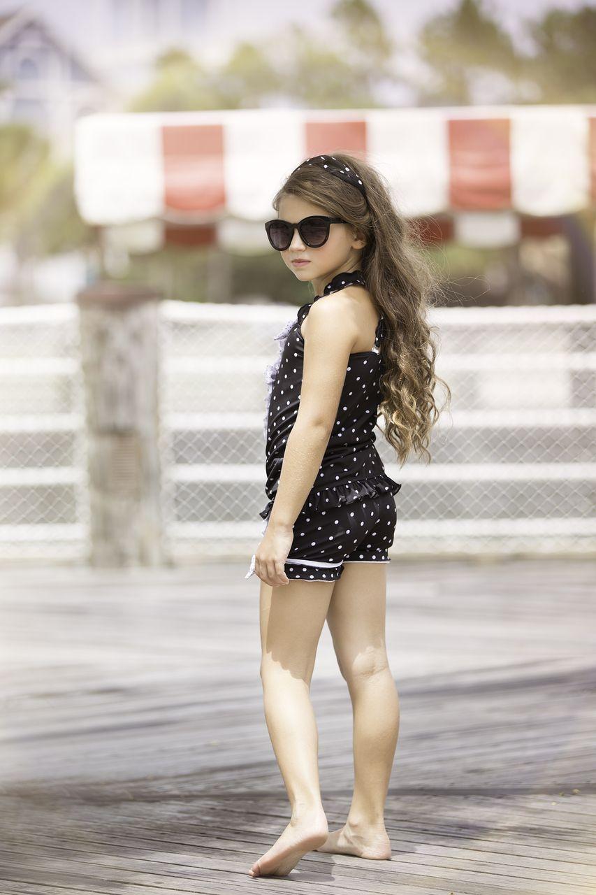 One Good Thread - Chichanella Bella - Licorice Twist Black Tankini SwimSuit Sun Suit, $64.00 (http://www.onegoodthread.com/chichanella-bella-licorice-twist-black-tankini-swimsuit-sun-suit/)