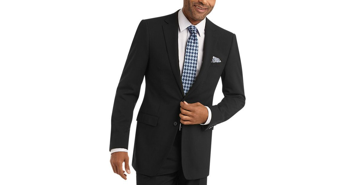 Check this out! Calvin Klein Black Extreme Slim Fit Suit - Extreme Slim Fit from MensWearhouse. #MensWearhouse