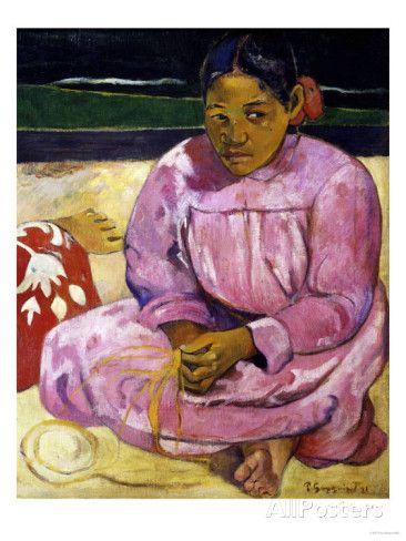 Women in Tahiti, c.1891, Paul Gauguin