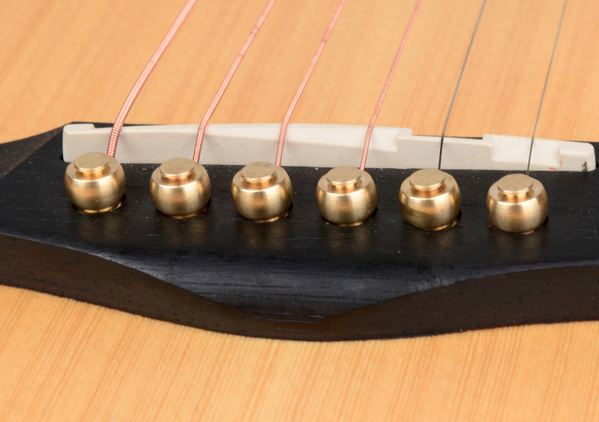 Brass Bridge Pins For Acoustic Guitar 6pcs Regular Price 6 90 Usd Acoustic Guitar Acoustic Guitar