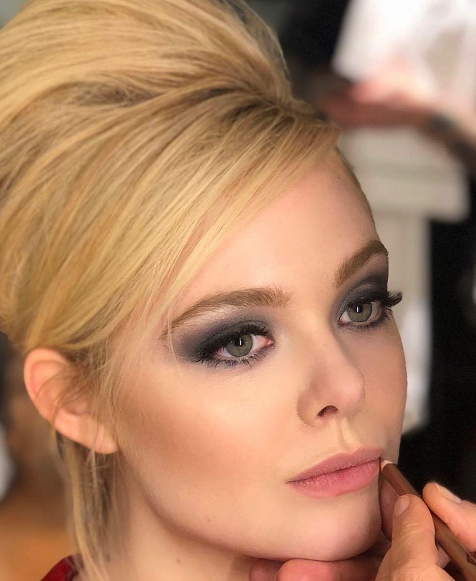 Elle Fanning Compilation Elle Fanning Makeup Chair Makeup Looks