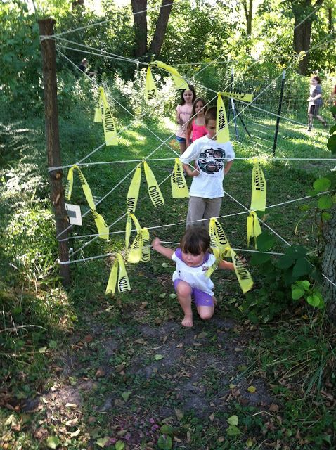 Kids Spartan Race obstacle ideas Obstacle Course Pinterest