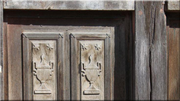 Carved wooden door – Faragott fa ajtó Carved wooden door – …