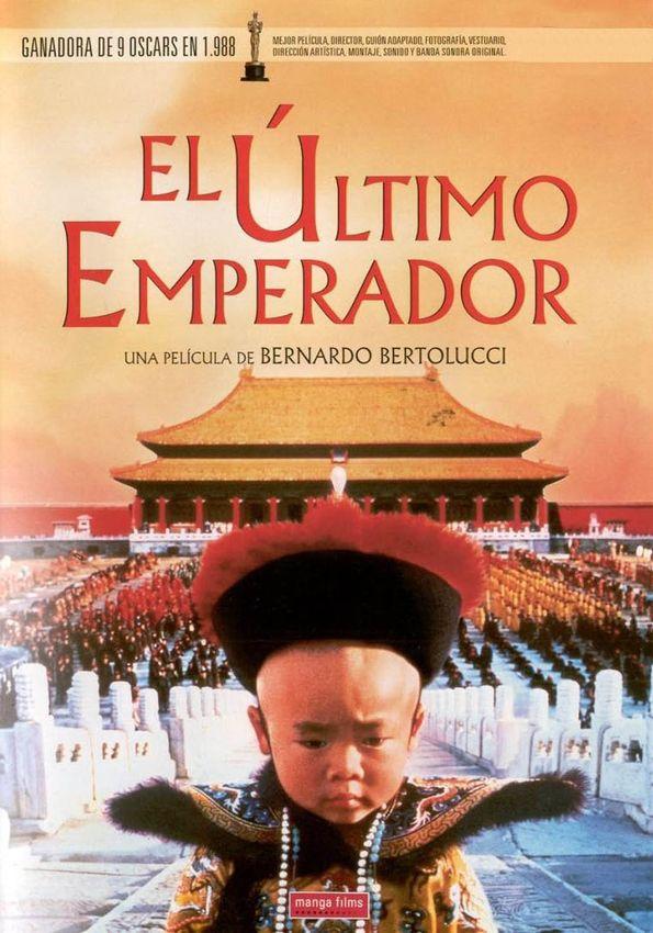 Esplendida Pelicula Inspirada En La Verdadera Historia De Pu Yi El Ultimo Emperador De China Que Fue Coronado Carteles De Cine Peliculas Portadas De Peliculas