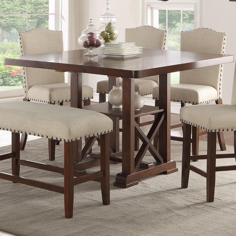 Merrill Counter Height Dining Table Counter Height Dining Table High Dining Table High Dining Table Set