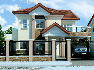 Modern House Plan 2292 Sf New Home Complete House Plan 2 Story Pdf Philippines House Design 2 Storey House Design Philippine Houses