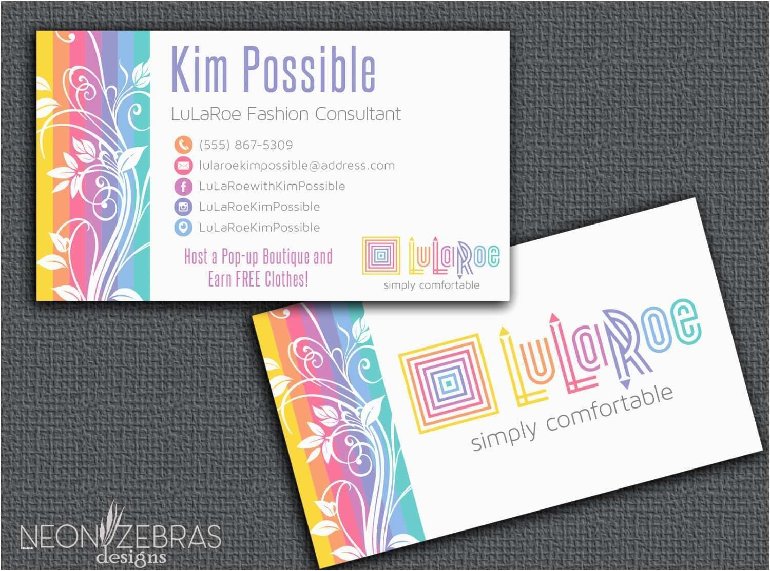 Image Result For Fun Business Cards Free Business Card Templates Lularoe Business Cards Card Templates Free