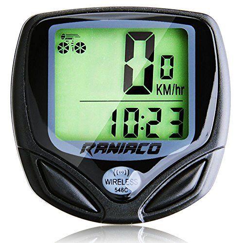 Raniaco Bike Computer Original Wireless Bicycle Speedometer Bike