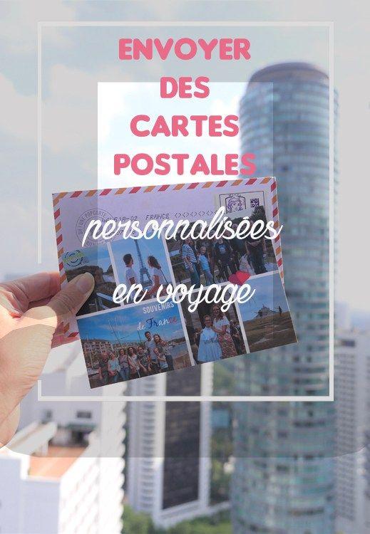 J'ai testé… envoyer mes cartes postales personnalisées avec Popcarte | Carte postale, Cartes ...