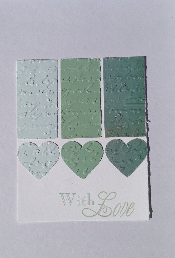 Handmade Paper Any Occasion Greeting Card  With by Scrapbooker429, $3.75 https://www.etsy.com/listing/151810853/handmade-paper-any-occasion-greeting?ref=shop_home_active_3